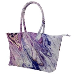 Marble Pattern Texture Canvas Shoulder Bag