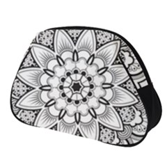 Star Flower Mandala Full Print Accessory Pouch (small)