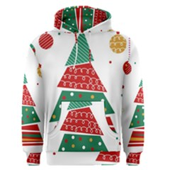 Christmas Tree Decorated Men s Pullover Hoodie