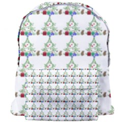 Christmas Tree Pattern Giant Full Print Backpack