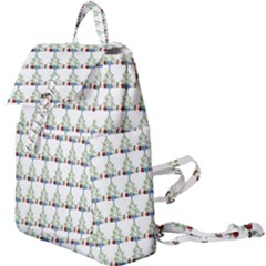 Christmas Tree Pattern Buckle Everyday Backpack