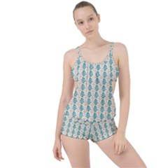 Christmas Tree Boyleg Tankini Set