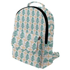 Christmas Tree Flap Pocket Backpack (small)