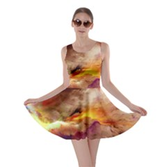Abstract 3d Graphics Psychedelic Nebula Space Skater Dress