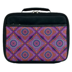 Ethnic Floral Seamless Pattern Lunch Bag