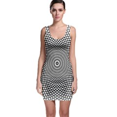 Abstract Animated Ornament Background Bodycon Dress