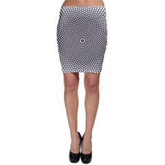 Abstract Animated Ornament Background Bodycon Skirt