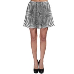 Abstract Animated Ornament Background Skater Skirt