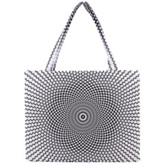 Abstract Animated Ornament Background Mini Tote Bag