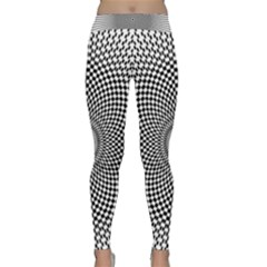 Abstract Animated Ornament Background Classic Yoga Leggings