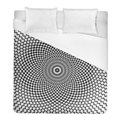 Abstract Animated Ornament Background Duvet Cover (full/ Double Size)