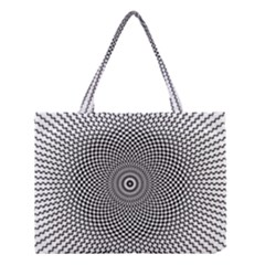 Abstract Animated Ornament Background Medium Tote Bag