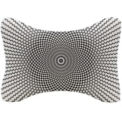 Abstract Animated Ornament Background Seat Head Rest Cushion