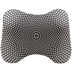 Abstract Animated Ornament Background Head Support Cushion