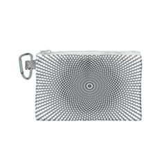 Abstract Animated Ornament Background Canvas Cosmetic Bag (small)