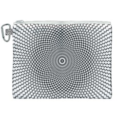 Abstract Animated Ornament Background Canvas Cosmetic Bag (xxl)