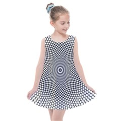 Abstract Animated Ornament Background Kids  Summer Dress