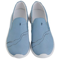 Airplane Airplanes Blue Sky Men s Lightweight Slip Ons by Mariart