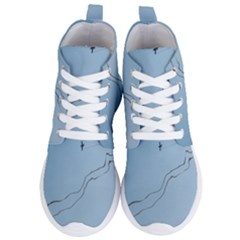 Airplane Airplanes Blue Sky Women s Lightweight High Top Sneakers by Mariart