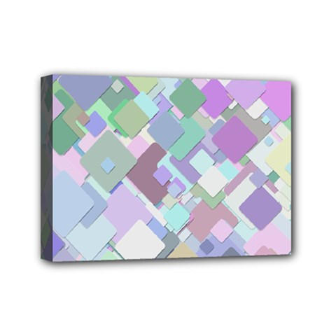 Colorful Background Multicolored Mini Canvas 7  X 5  (stretched)