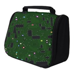 Board Conductors Circuits Full Print Travel Pouch (small)