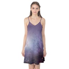 Orion Nebula Pastel Violet Purple Turquoise Blue Star Formation Camis Nightgown
