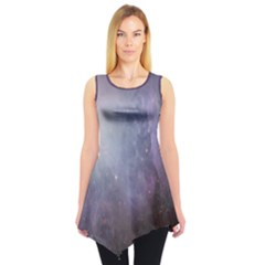 Orion Nebula Pastel Violet Purple Turquoise Blue Star Formation Sleeveless Tunic by genx