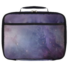 Orion Nebula Pastel Violet Purple Turquoise Blue Star Formation Full Print Lunch Bag