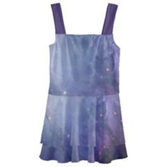 Orion Nebula Pastel Violet Purple Turquoise Blue Star Formation Kids  Layered Skirt Swimsuit