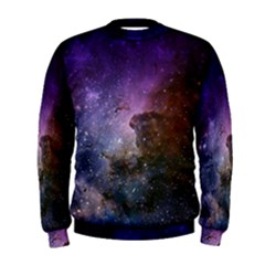 Carina Nebula Ngc 3372 The Grand Nebula Pink Purple And Blue With Shiny Stars Astronomy Men s Sweatshirt
