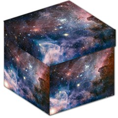 Carina Nebula Ngc 3372 The Grand Nebula Pink Purple And Blue With Shiny Stars Astronomy Storage Stool 12   by snek