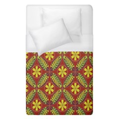 Abstract Floral Pattern Background Duvet Cover (single Size)