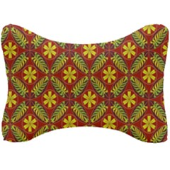 Abstract Floral Pattern Background Seat Head Rest Cushion