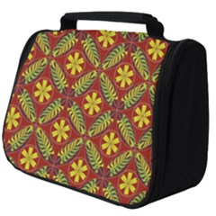 Abstract Floral Pattern Background Full Print Travel Pouch (big)