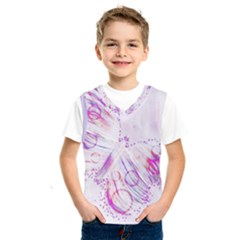 Colorful Butterfly Purple Kids  Sportswear