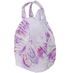Colorful Butterfly Purple Travel Backpacks by Mariart