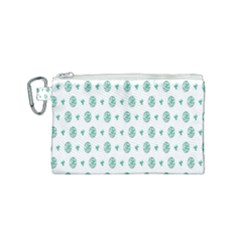 Pattern Background Canvas Cosmetic Bag (small)
