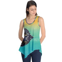 Amphibian Animal Sleeveless Tunic