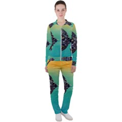 Amphibian Animal Casual Jacket And Pants Set