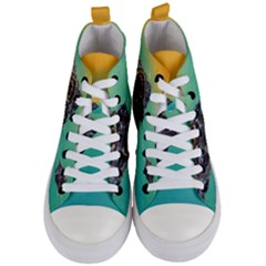 Amphibian Animal Women s Mid Top Canvas Sneakers