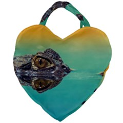 Amphibian Animal Giant Heart Shaped Tote