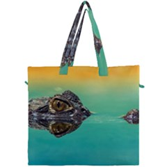 Amphibian Animal Canvas Travel Bag by AnjaniArt