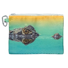Amphibian Animal Canvas Cosmetic Bag (xl)