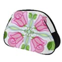 Figure Roses Flowers Ornament Full Print Accessory Pouch (Small) View1