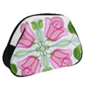 Figure Roses Flowers Ornament Full Print Accessory Pouch (Small) View2