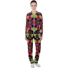 Pattern Berry Red Currant Plant Casual Jacket And Pants Set by Bejoart