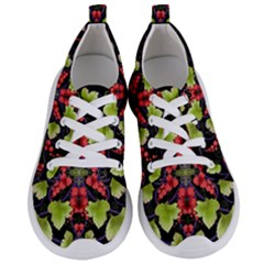 Pattern Berry Red Currant Plant Women s Lightweight Sports Shoes