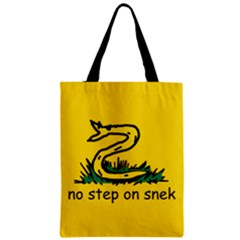 No Step On Snek Gadsden Flag Meme Parody Classic Tote Bag