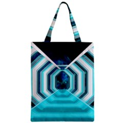 Space Ship Sci Fi Fantasy Science Zipper Classic Tote Bag by Bejoart