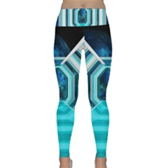 Space Ship Sci Fi Fantasy Science Lightweight Velour Classic Yoga Leggings